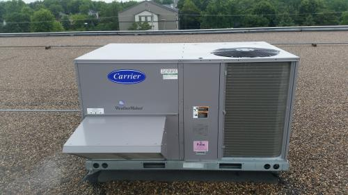 commercial carrier hvac unit